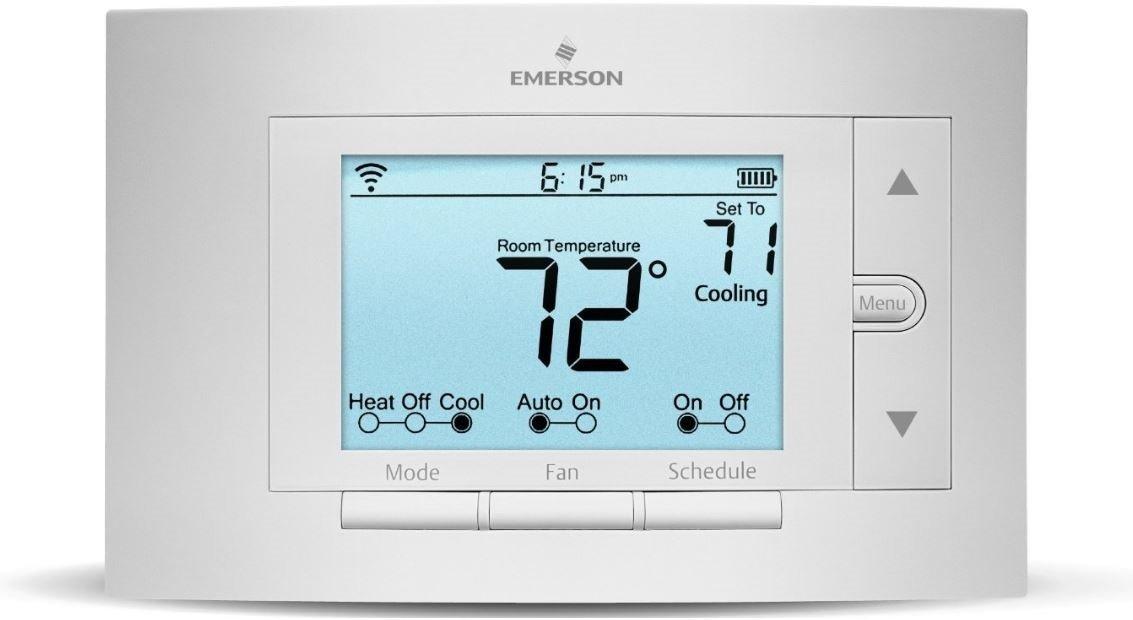 Emerson Sensi Wi-Fi Programmable Thermostat Pro Version 1F86U-42WF for Smart Home -Works W/ Alexa - $90 + FS