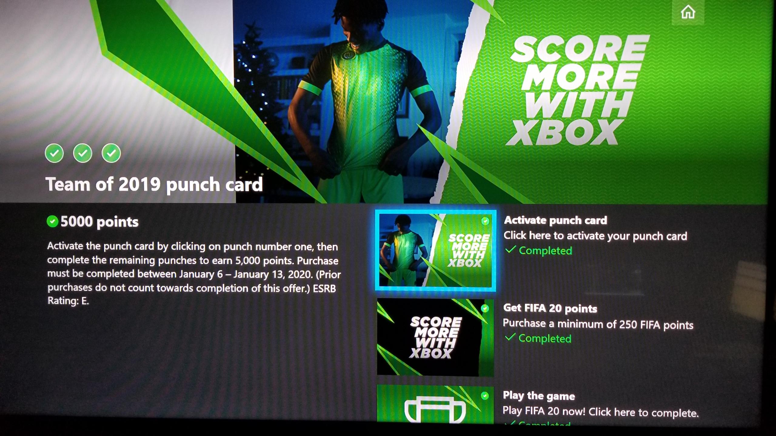 MS Rewards Maximum 2100 Points Profit On Xbox Console