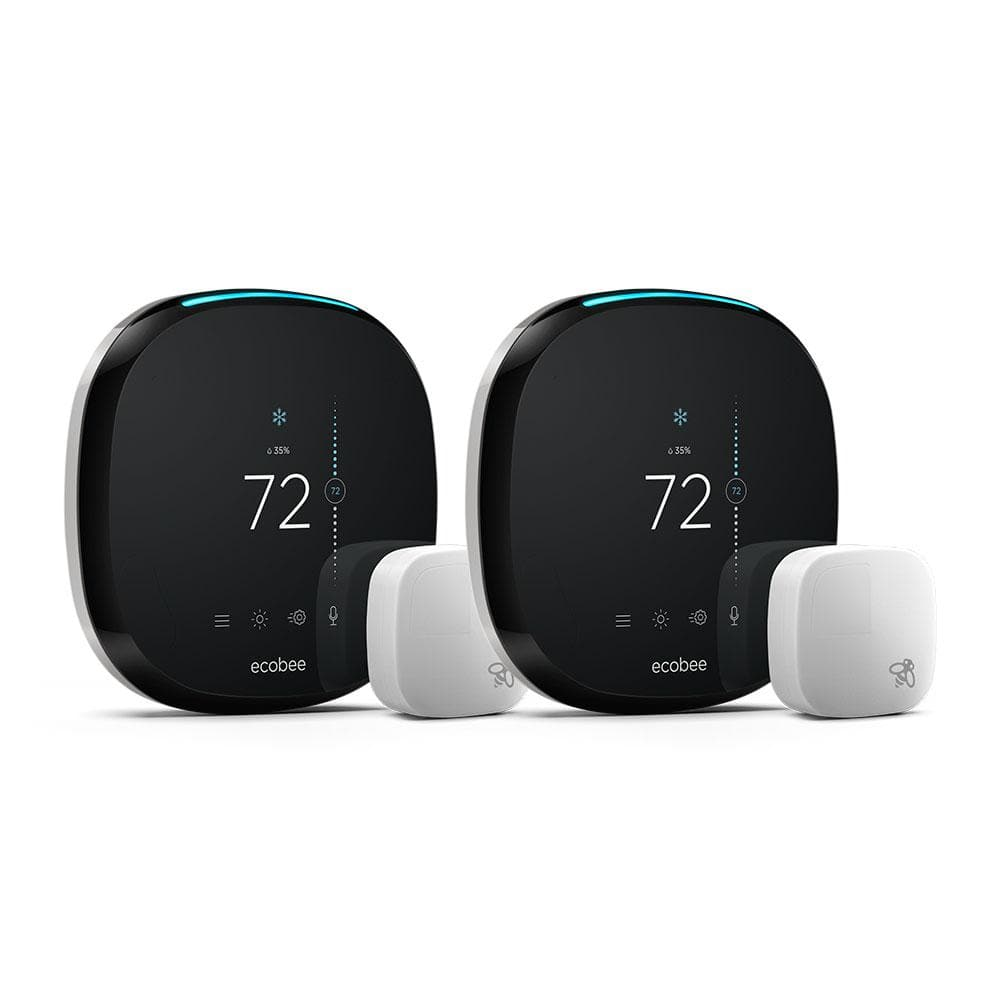 Ecobee4 2-Pack w/ Remote Sensors for $299