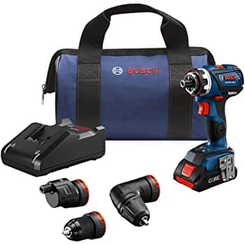 Bosch 18V EC Brushless Flexiclick Drill / Driver with 4.0 Ah Battery $229
