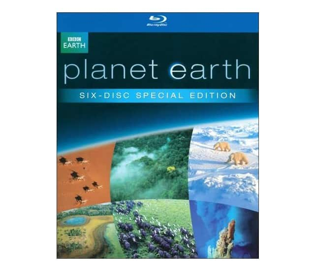 BBC Blu-rays:Planet Earth, Life, Frozen Planet, Blue Planet: Complete Series $15 at Best Buy