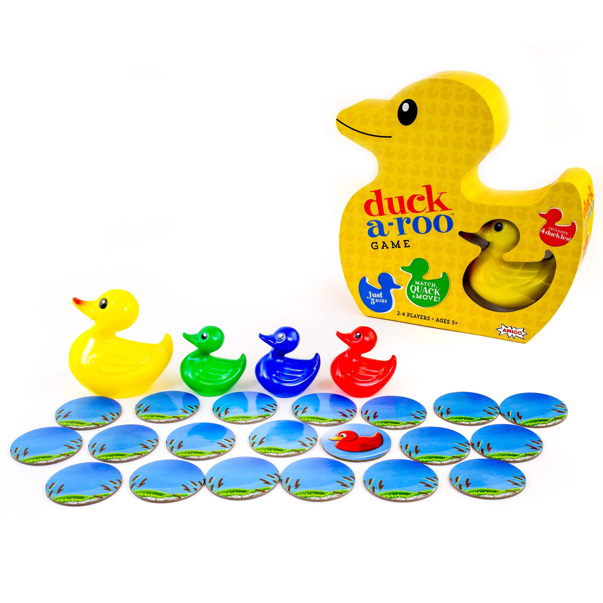 Duck-A-Roo! Kids Memory Game in a Duck-Shaped Box $4.69