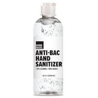 Born Basic Hand Sanitizer - 16.9 fl oz $3.99