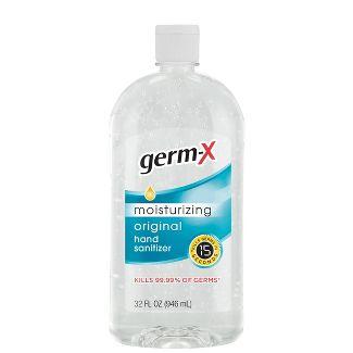 Germ-X Original Hand Sanitizer with Cap or Pump - 32 fl oz - YMMV $5.99