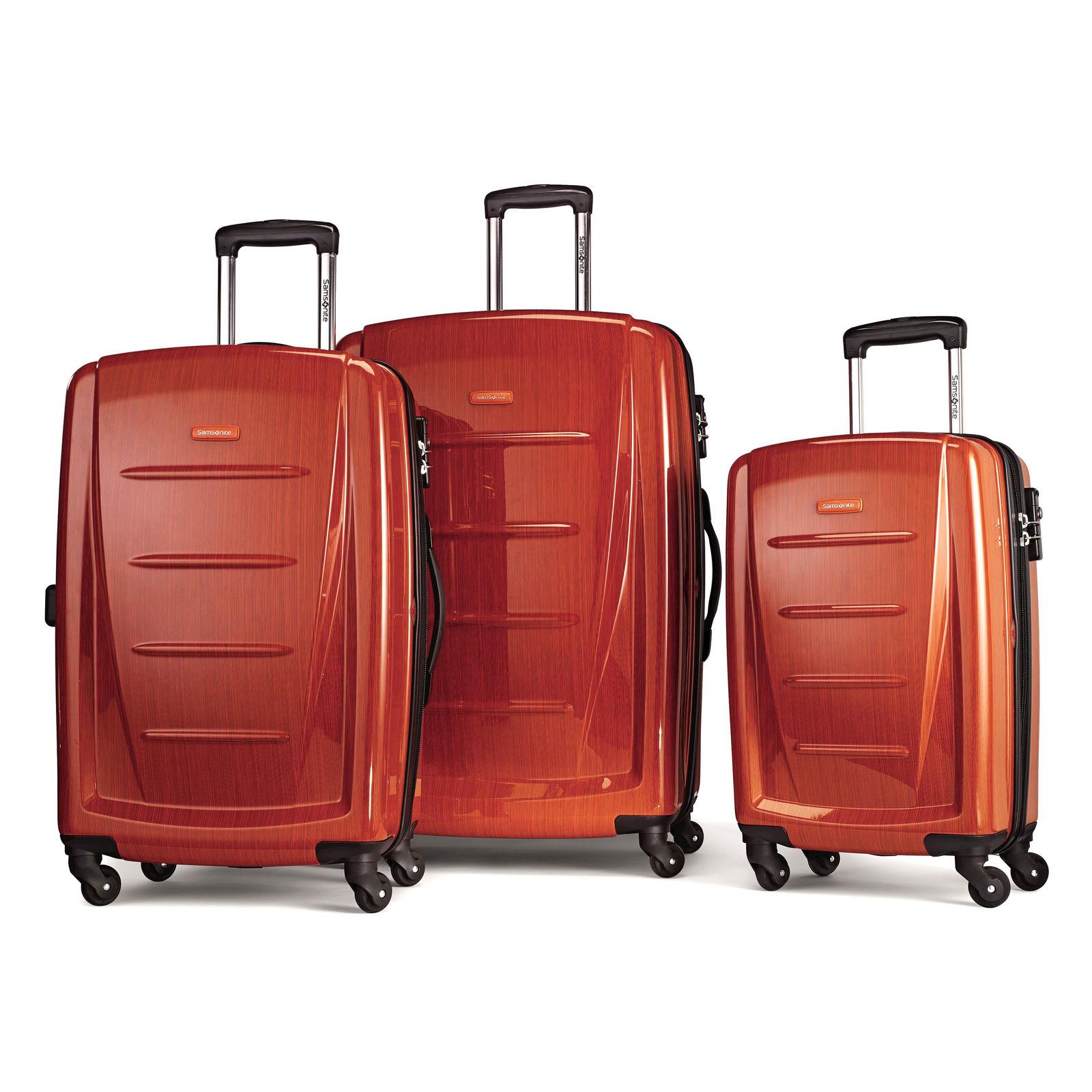 Samsonite Winfield 2 3-piece luggage set Orange $159.99