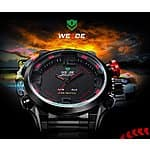 Cool Men Luxury Brand WEIDE Led Digit Watch Masculino Military $18.85 the Cheapest