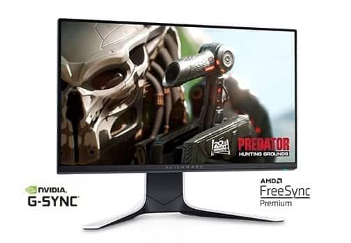 """24.5"""" Alienware 25 1080p 240Hz 1ms FreeSync / G-Sync IPS Gaming Monitor  + $25 Dell Promo eGift Card - $242.99 + FS @ Dell.com"""