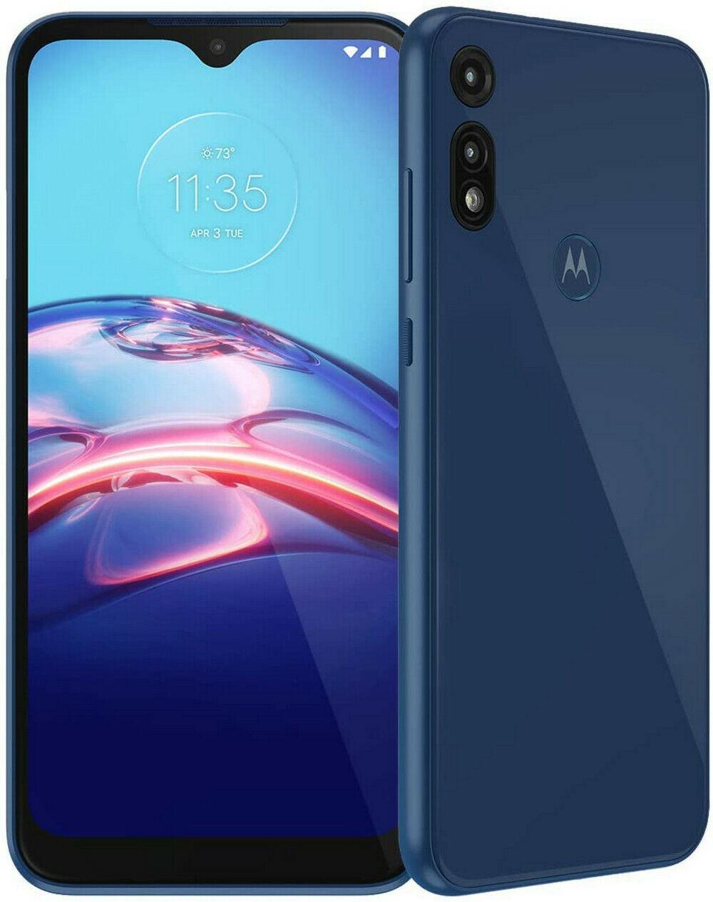 Tracfone 32GB Motorola Moto E (2020) Prepaid Smartphone (Locked) + 1-Year of Service w/ 1500 Minutes Talk, 1500 Texts & 1500 MB LTE Data - $52.49 @ eBay