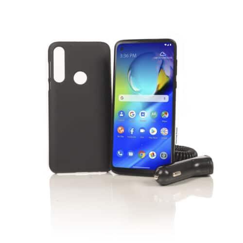 Tracfone 64GB Motorola Moto G Power (2020) Prepaid Smartphone (Locked) + 1-Year of Service w/ 1500 Minutes Talk, 1500 Texts & 1500 MB LTE Data - $96 + FS @ eBay