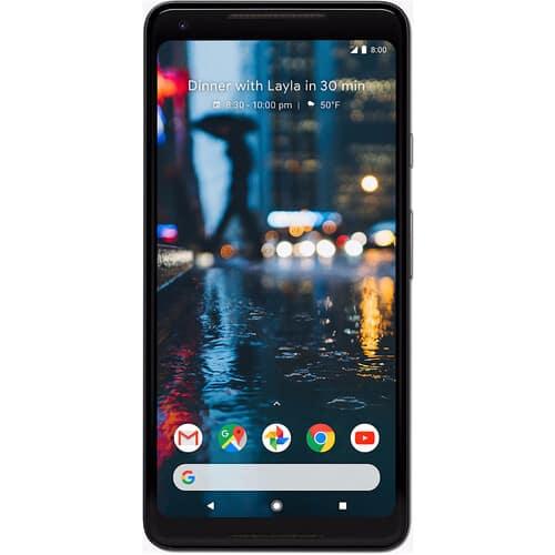Google Pixel 2 XL 128GB Smartphone (Unlocked, Just Black or Black & White)