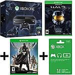 Xbox One One Halo: The Master Chief Collection Bundle + Destiny + 12-Month Xbox Live Gold - $349.99 w/ Free Store Pickup @ Fry's (B&M Only)