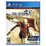 Final Fantasy Type-0 HD (PS4 or Xbox One)  $28 + Free Store Pickup