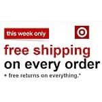 Free Shipping Sitewide *No Minimum* @ Target from 5/31 to 6/6 (Normally $25 Minimum)