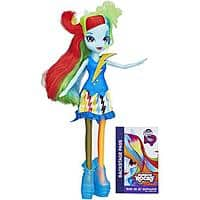 Amazon Deal: My Little Pony Equestria Girls Dolls - DJ PON-3 ($3.00 - OOS) ; Rainbow Dash ($4.10) @ Walmart