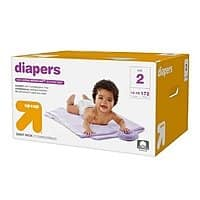 Target Deal: 6-Boxes Up & Up Giant Pack Diapers + $50 Target Gift Card