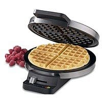 BuyDig Deal: Cuisinart Sale (Refurbished): Round Classic Waffle Maker