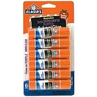 Target Deal: 6-Pack 0.21-oz Elmer's Washable Disappearing Purple Glue Sticks