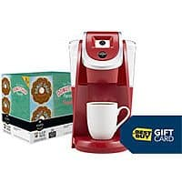 Best Buy Deal: Keurig 2.0 K200 Coffeemaker + $15 Best Buy GC + 48-Ct K Cups + 24 K-Carafe Pods