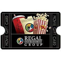 Amazon Deal: $25 Regal Cinemas or Steak 'N Shake eGift Card (Email Delivery)