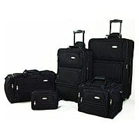 BuyDig Deal: 5-Piece Samsonite Luggage Travel Set (Various Colors)