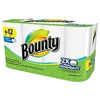 Target Deal: 24-Ct Bounty Select-A-Size Giant Roll Paper Towels + $10 Target Gift Card