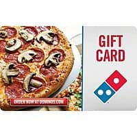 eBay Deal: Gift Cards: $30 Domino's Gift Card $25, $50 Boston Market Gift Card