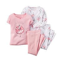 Macy's Deal: Macy's 30% Off Coupon: 4-pc Baby Girls' Pajama Sets