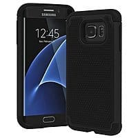 Bastex Hybrid Armor Slim Fit Protective Case for Galaxy S7 Edge