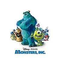 Disney Pixar Monsters, Inc (Digital Movie)