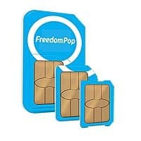 FreedomPop Global GSM 3-in-1 SIM Kit w/ Unlimited Talk & Text + 1GB Data Trial