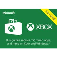 Microsoft (Bing) Rewards: Xbox Digital Gift Card: $10 for 7000 Points, $5 for
