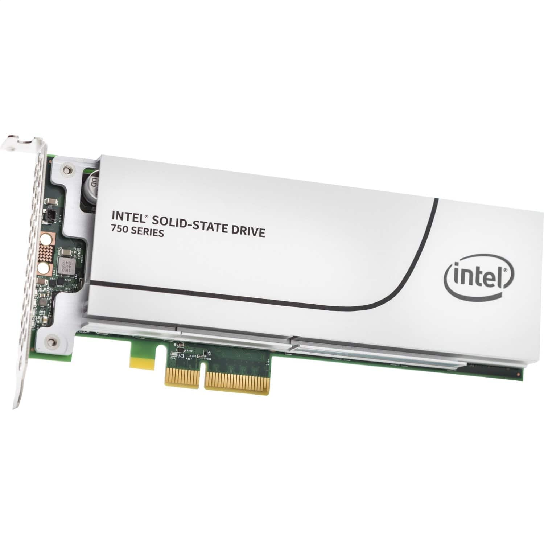 400GB Intel 750 PCI-E NVMe 3.0 x4 MLC Solid State Drive SSD  $340 + Free Shipping