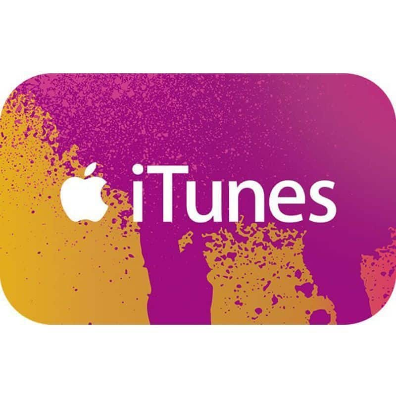 $100 iTunes Gift Card (Email Delivery)  $75