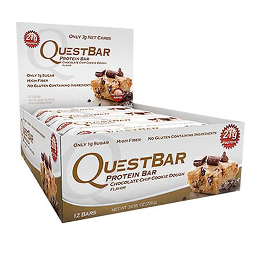24-Count QuestBar Protein Bars  $40 New Accts Only + Free S&H