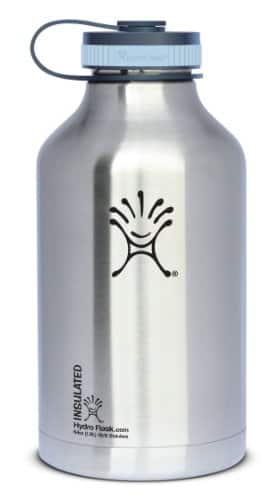 Hydro flask 64 ounce Growler Silver $37 @ Amazon