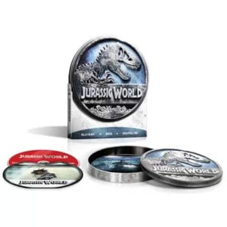 Jurassic World (Limited Edition Blu-ray + DVD + Digital HD) Pre-Order  $19.60