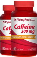 200-Ct Piping Rock Caffeine 200mg Tablets  $2