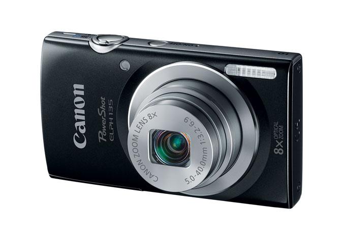 Canon Coupon: PowerShot ELPH 135 16MP Camera (Refurb)  $47 & More + Free S&H
