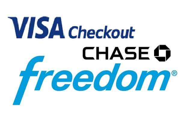 visa checkout offer chase freedom card purchases slickdeals net