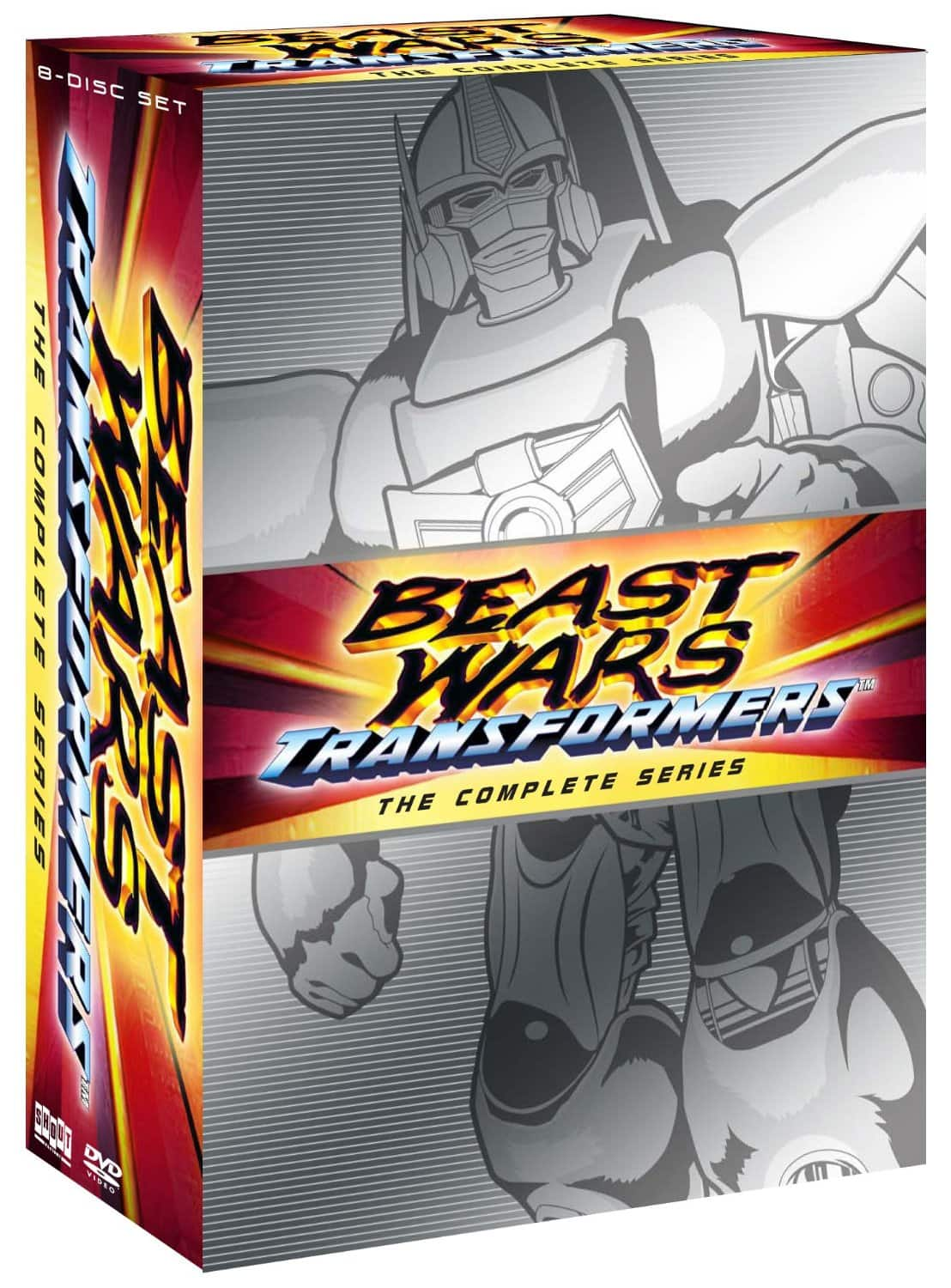 Beast Wars: Transformers The Complete Series (DVD)  $20