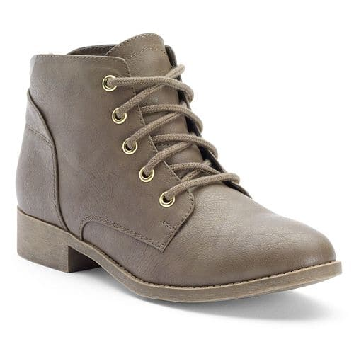 2-Pair Women's Select Boots (SO or Candies, various styles) for $25.48 w/ free store pickup at Kohls ($12.74 each when you buy 2)