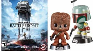 Star Wars: Battlefront Pre-Order (Various Platforms) + Star Wars Bobble Head  $60 + Free Shipping