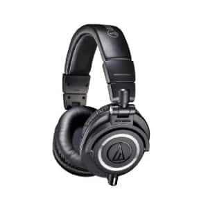 Audio-Technica ATH-M50x Professional Studio Monitor Headphones  $115 + Free Shipping
