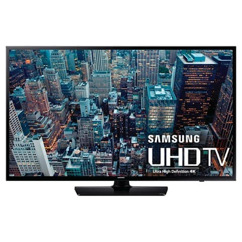 Samsung UN48JU6400 48-Inch 4K TV with Home Theater Bundle $599 at Amazon