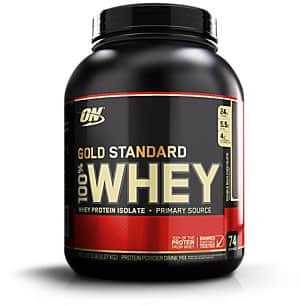 5lbs. Optimum Nutrition 100% Whey Protein Powder (Various Flavors)  $46.40 + Free Shipping