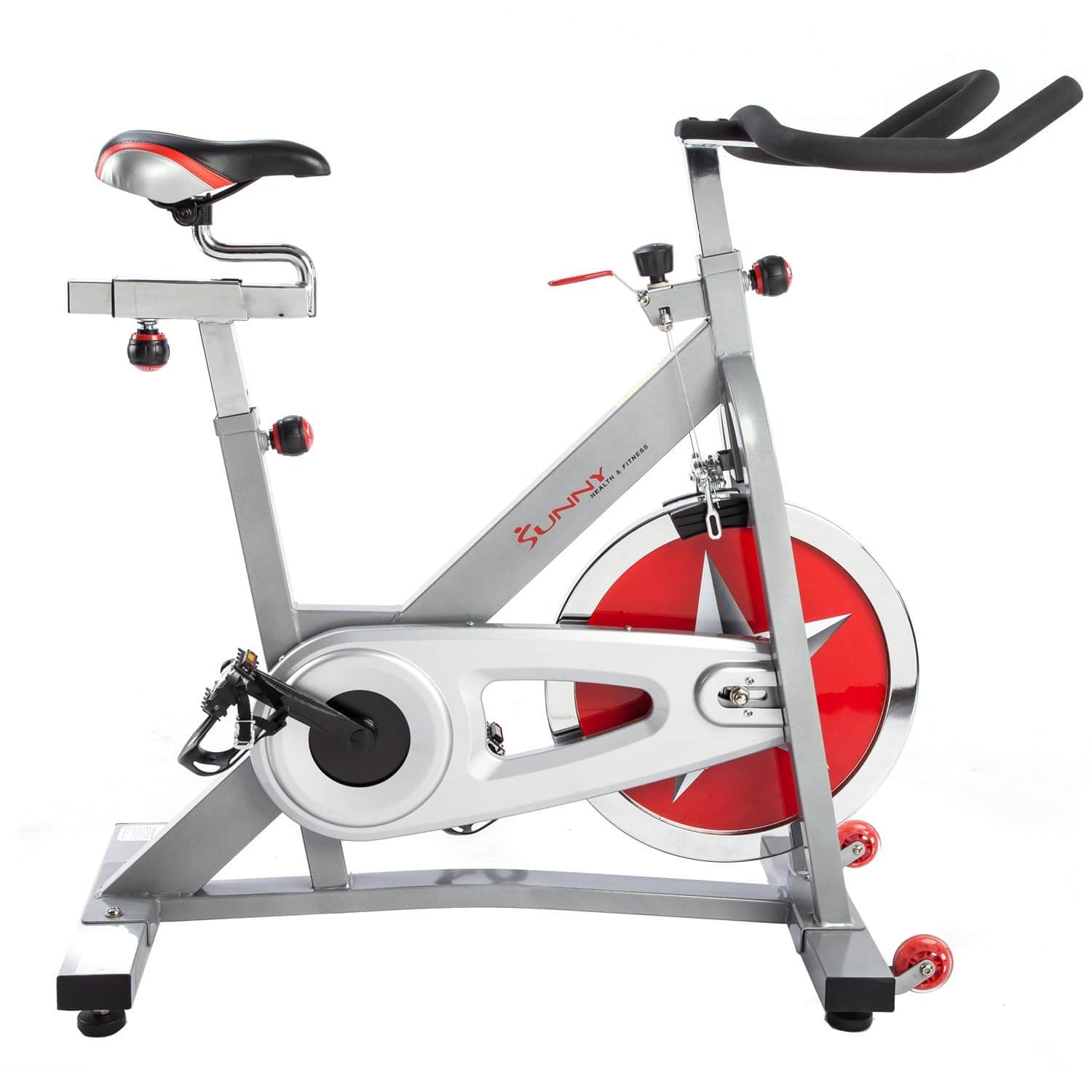 Prime Members: Sunny Health & Fitness Pro Indoor Cycling Bike  $195 + Free Shipping