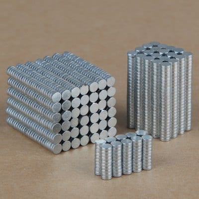 100-Pack (3mm x 1mm) Rare Earth Magnets  $1 + Free Shipping
