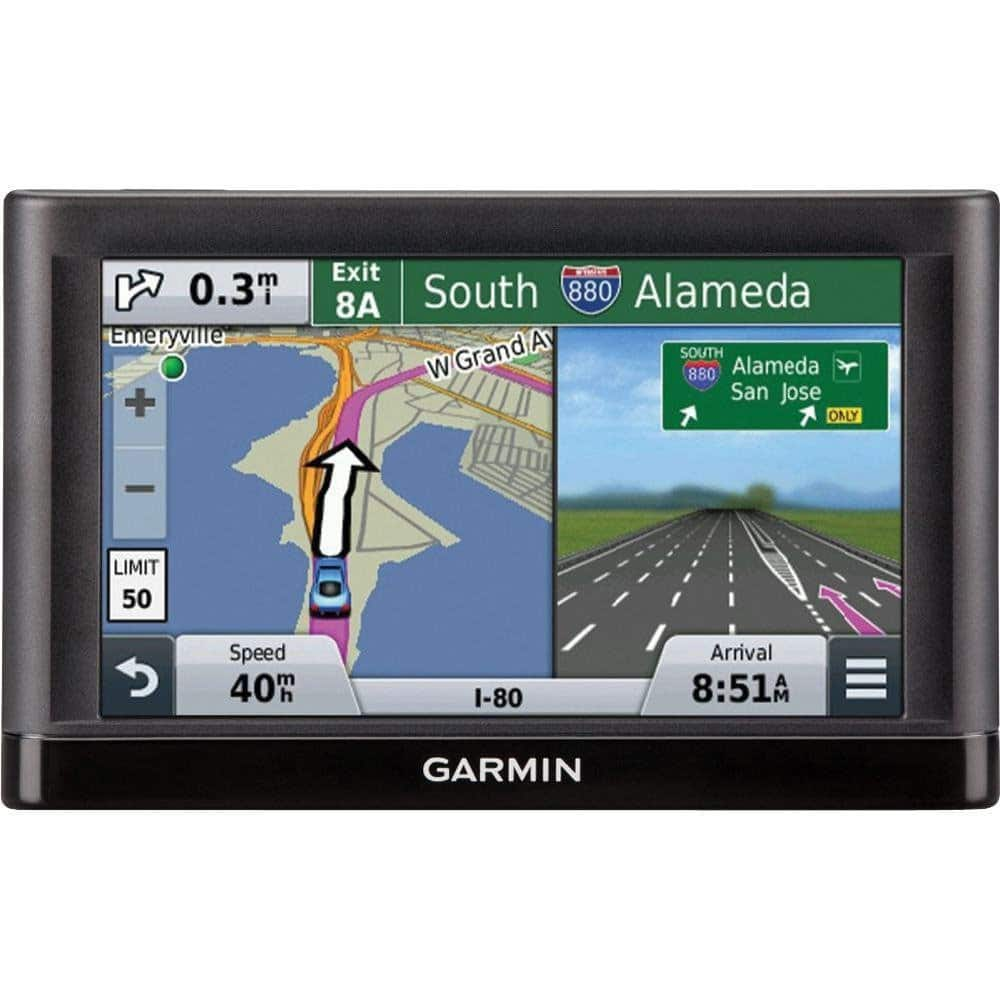 Garmin Nuvi 55LM GPS Navigation System with Lifetime Maps $79 AC + Free Shipping!