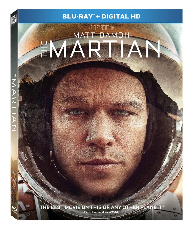 The Martian (Blu-ray + Digital HD)  $15 + Free Store Pickup