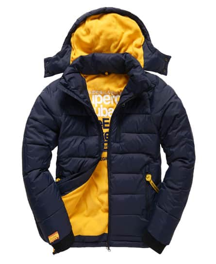 SuperDry Men's Wet Scuba Jacket (Navy or Black/Royal)  $69.50 + Free Shipping